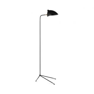 Floor lamp 1 arm - Serge Mouille Inspiration