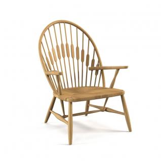 Chaise Lounge CH25 inspiration Hans Wegner
