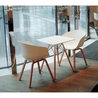 DSW Square Table - Eames Inspiration