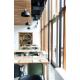 Table rectangulaire en bois Classica