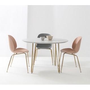 Table ronde de cuisine - Queen