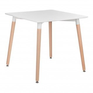 Square Scandinavian Table Oslo