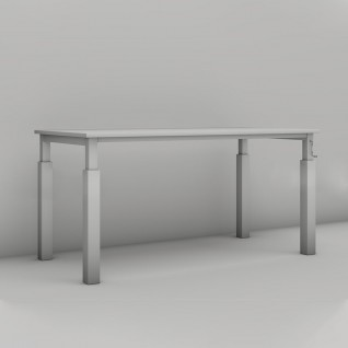 """Boring Crank Adjustable Desk"" - Boring Collection"