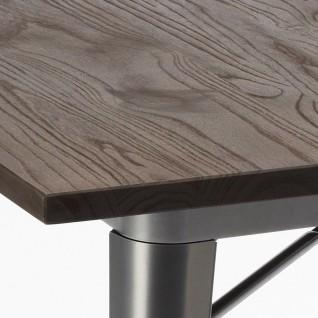 Table Tolix Rectangulaire Terek - Xavier Pauchard