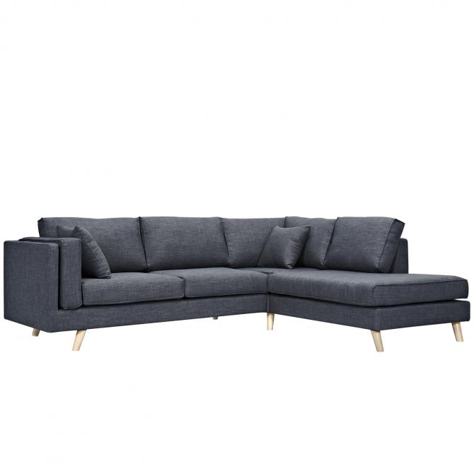 Canapé d'angle 3 places Miranda