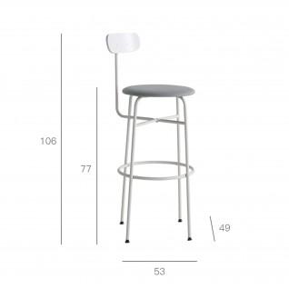 Afteroom bar stool - Menu