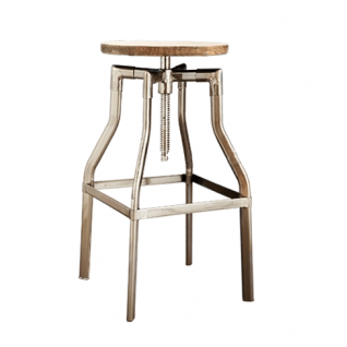 Turner industrial stool