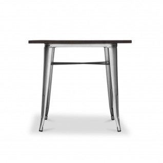 Square restaurant table Terek Tolix - Xavier Pauchard Inspiration