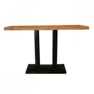 Table de restaurant rectangulaire en bois - Karina
