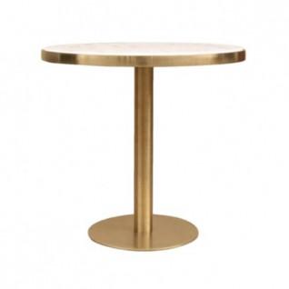 Table effet marbre ronde - Bruno