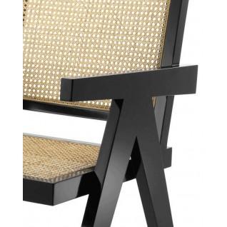 Wicker Chair - Inspiration Pierre Jeanneret