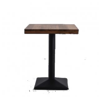 Table de bar carrée en bois Roxy