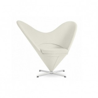 Chaise Heart Cone - Verner Panton