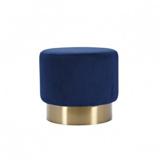 The Velvet and Brass Oscar Ottoman