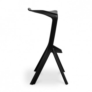Chaise bar Miura  - reproduction  Konstantin Grcic Plank