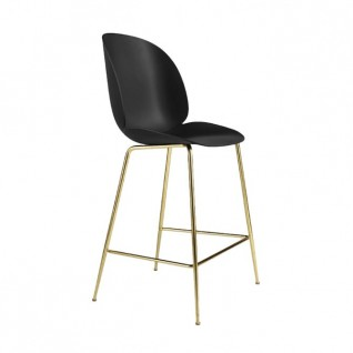 The Beetle Bar Stool in Plastic  - Gubi Inspiration