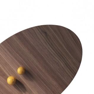 Table basse ovale Tulipe - Inspiration Eero Saarinen