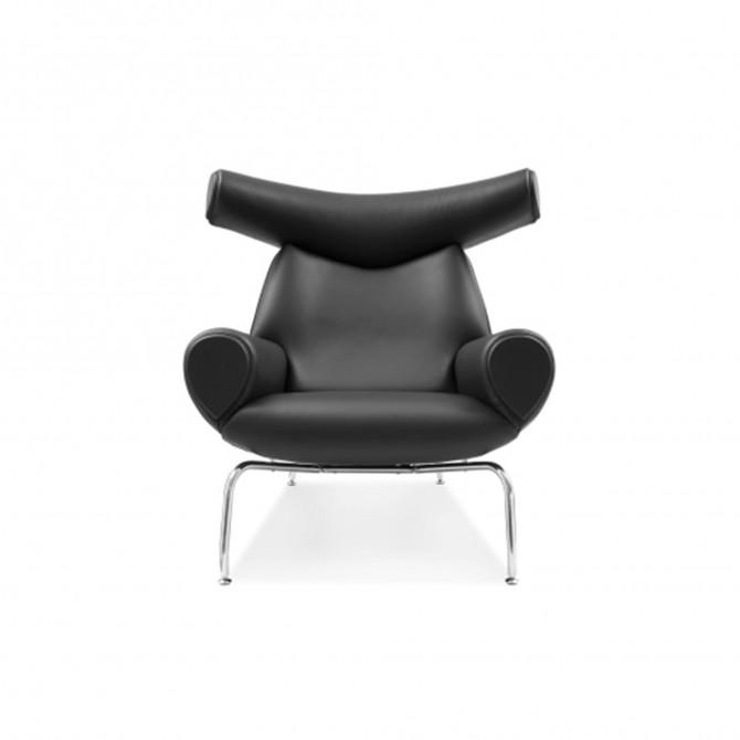 Fauteuil Lounge OX - Inspiration Hans Wegner