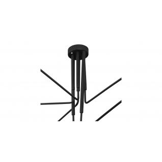 Hanglamp 6 armen - Serge Mouille Inspiratie