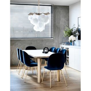 Velvet Bettle chair - Gubi inspiration