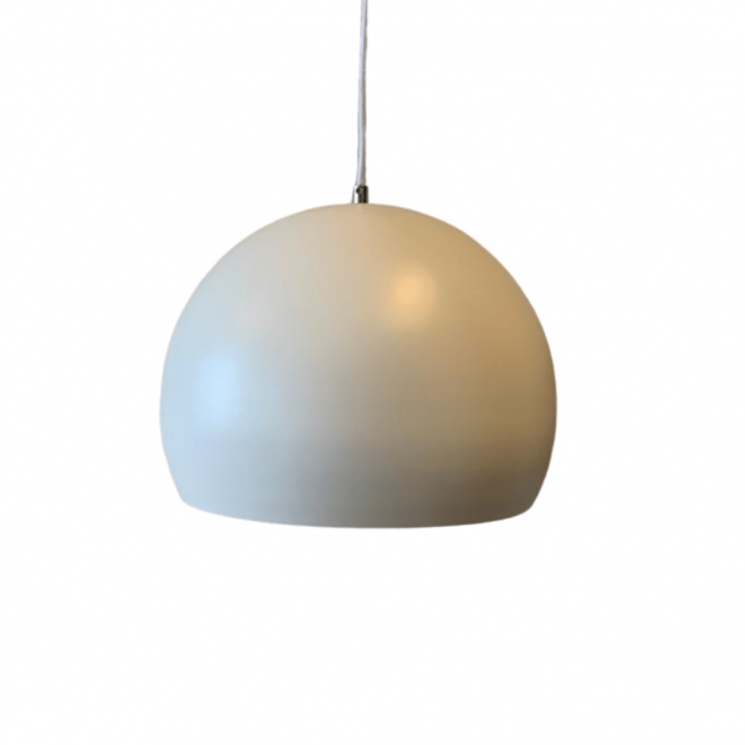 White Round Ceiling Lamp 34 cm