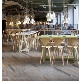 Bar Stool in wood - Norman Cherner Inspiration