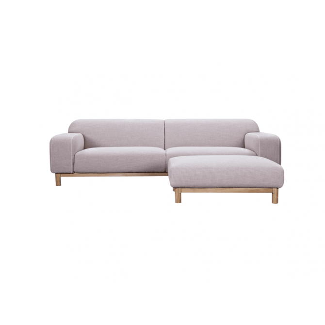 Corner sofa and ottoman Charlotte