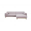 light Pink sofa & ottoman Charlotte