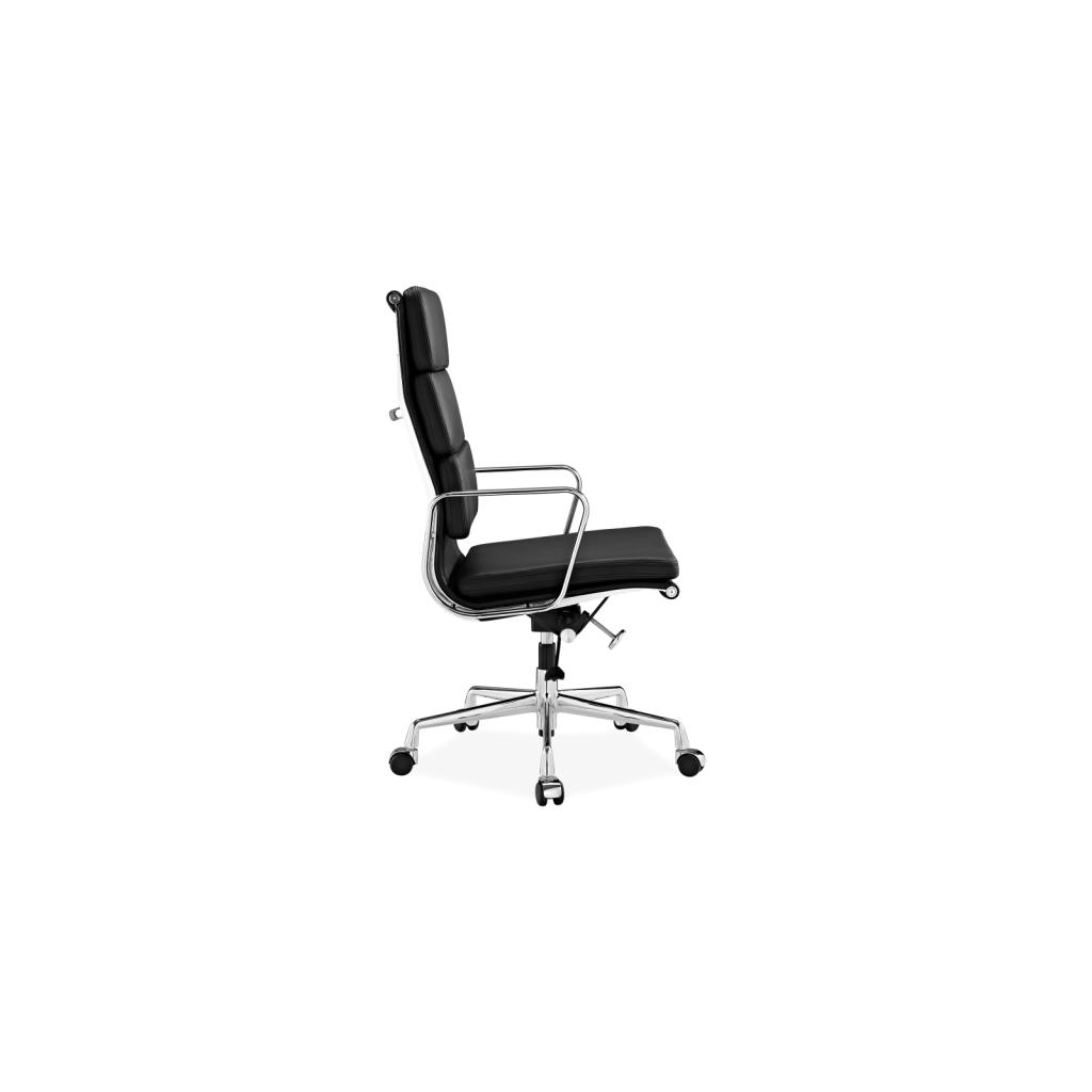 eames fauteuil bureau ... Chaise de bureau en cuir EA219 Soft Pad - Inspiration Eames ...