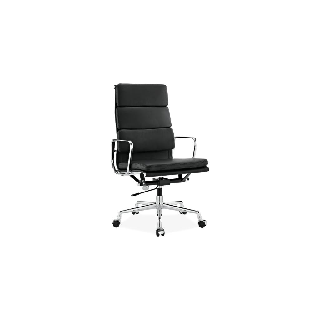 Bureaustoel Leer Wit.Bureaustoel Ea219 In Leder Eames Vitra Reproductie Diiiz