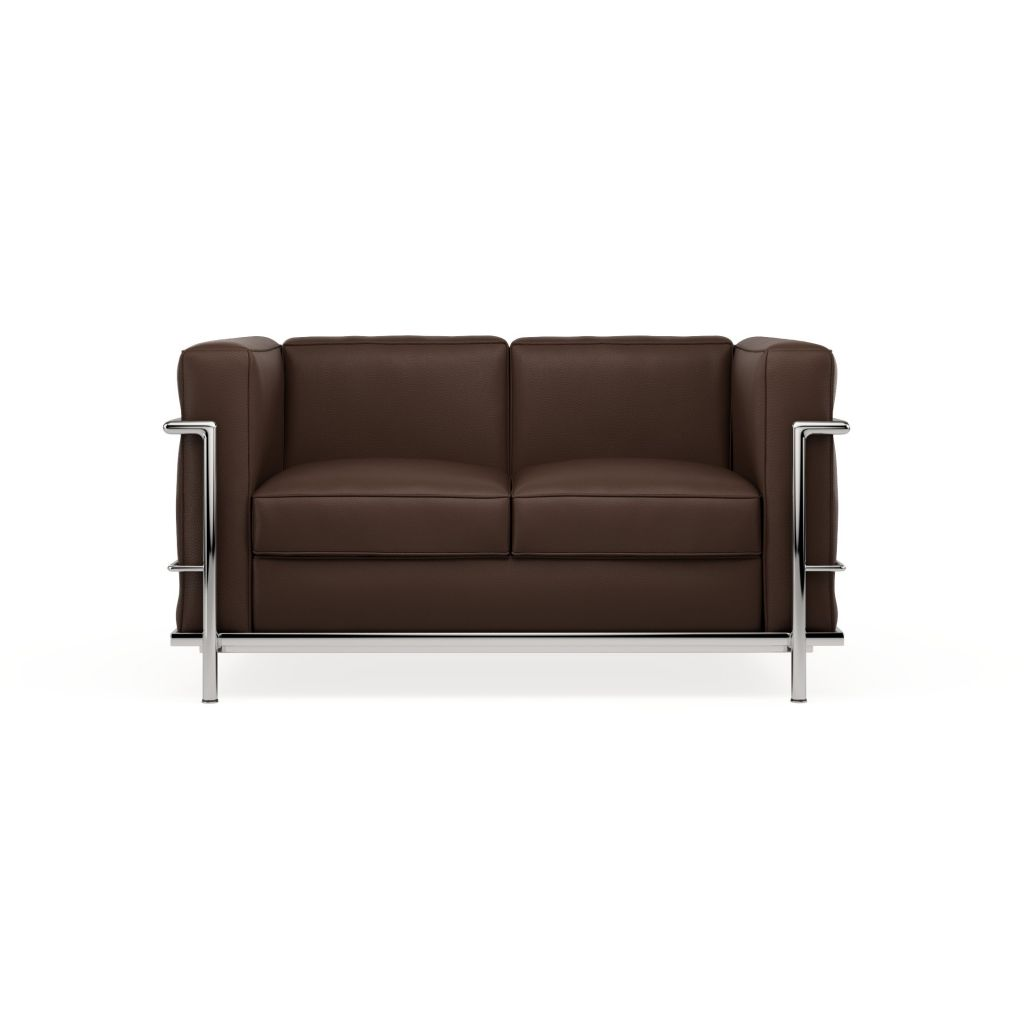 Leather Sofa 2 Seater Loveseat Lc2 Inspiration
