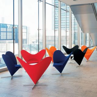 Heart Cone Chair  - Verner Panton