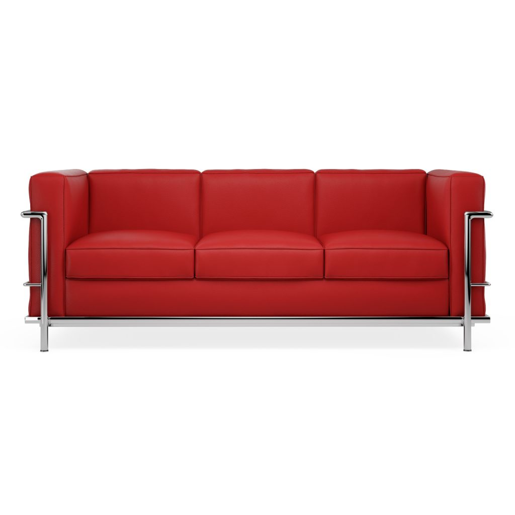 Sofa Lc2 Le Corbusier 3 Seater Replica Diiiz