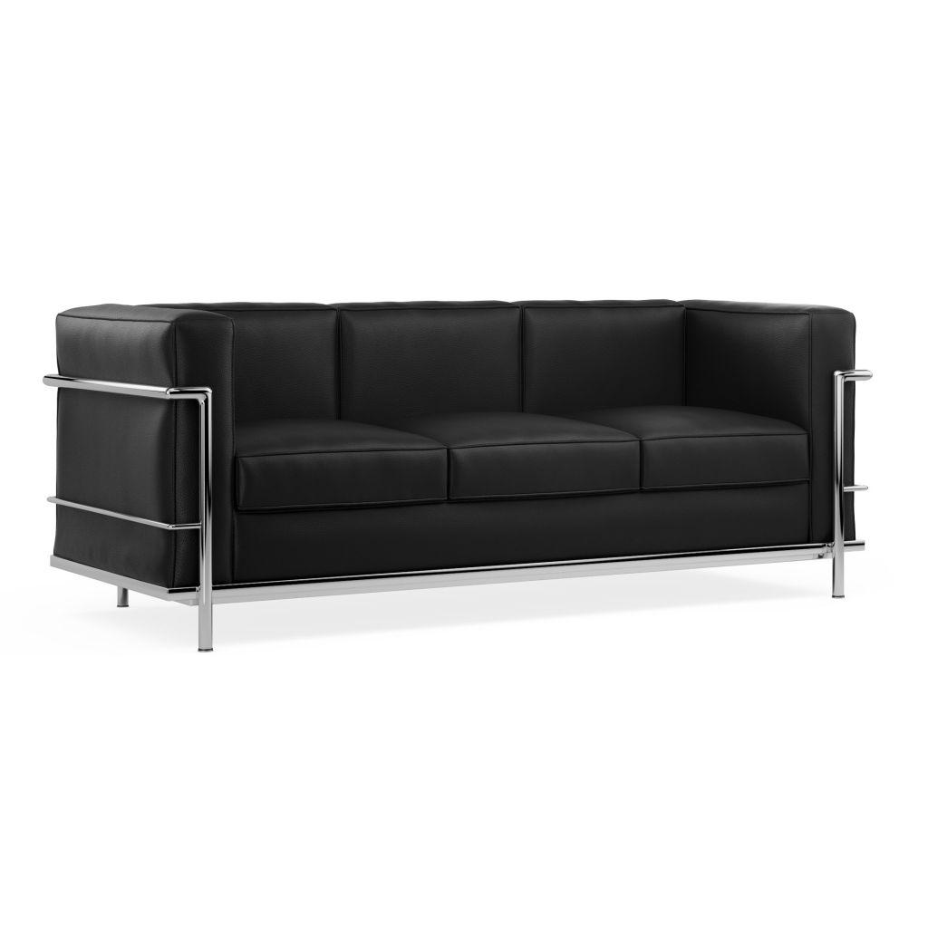 Sofa Lc2 Le Corbusier 3 Seater