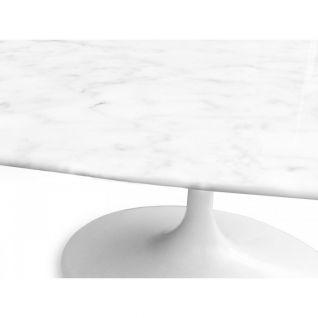Table Ovale Tulipe Marbre - Eero Saarinen Knoll
