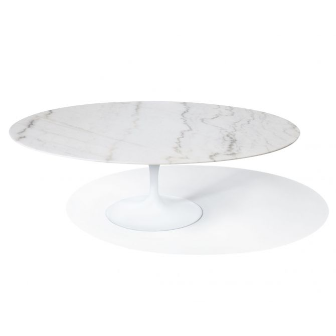 Oval Tulip Table Knoll replica Eero Saarinen