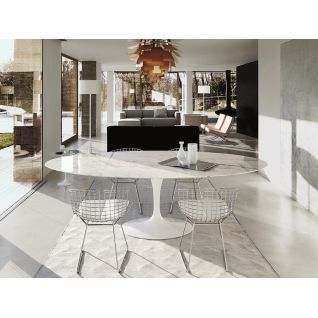 Ovaal Tafel Tulipe Knoll - Eero Saarinen