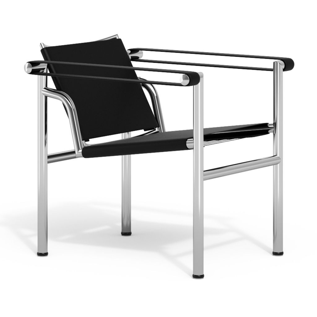 fauteuil lc1 le corbusier reproduction pas cher. Black Bedroom Furniture Sets. Home Design Ideas