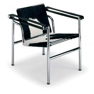 Chaise Basculante LC1 Peau de Vachette -  Inspiration LC1