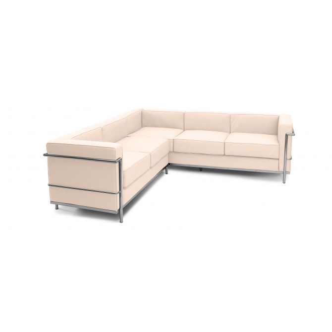 Leather Corner Sofa 'Grand Confort' - Inspiration LC2