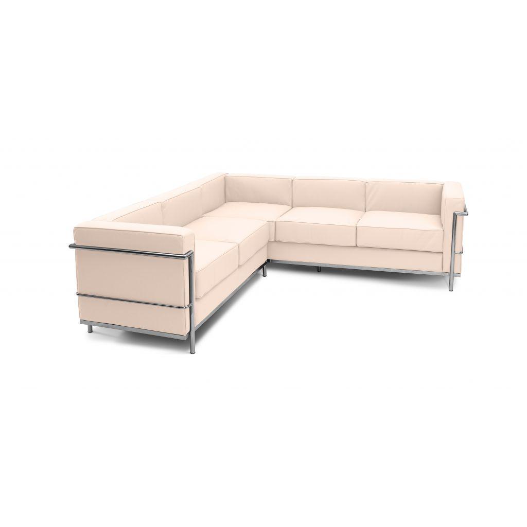 canap angle lc2 le corbusier lc2 r plique pas cher. Black Bedroom Furniture Sets. Home Design Ideas