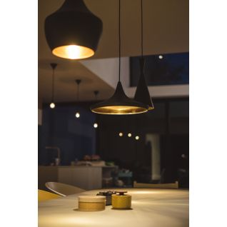Beat FAT Pendant Light Black & Copper- Tom Dixon