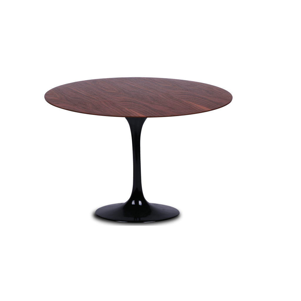 Table Ronde Tulipe En Bois Reproduction Knoll Eero Saarinen