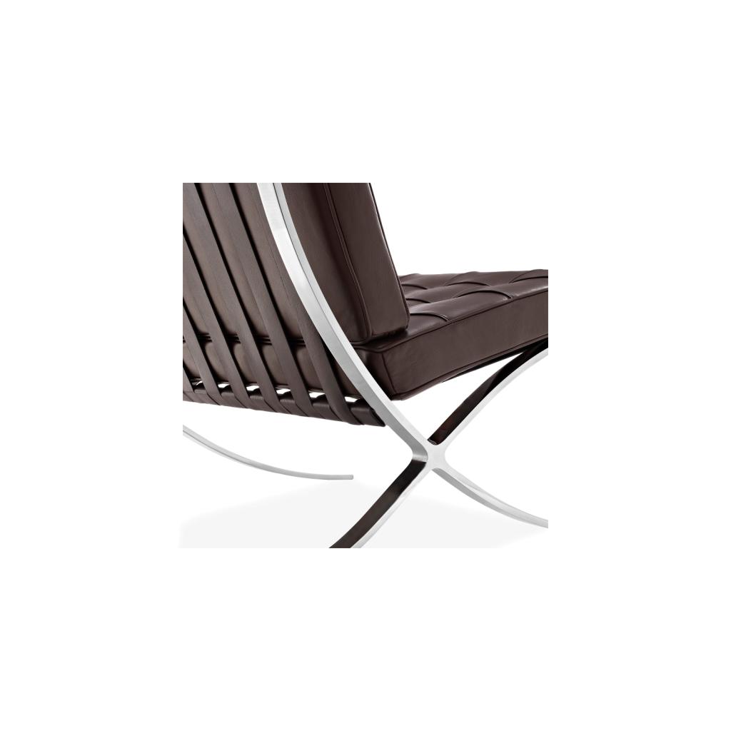 Sensational Barcelona Zetel Reproductie Knoll Mies Van Der Rohe Diiiz Ibusinesslaw Wood Chair Design Ideas Ibusinesslaworg