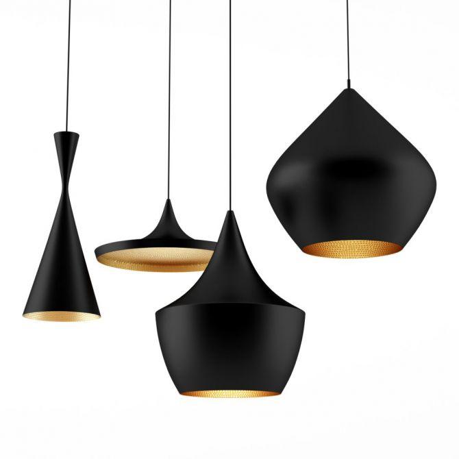 STOUT Hanglamp Koper - Inspiratie Tom Dixon