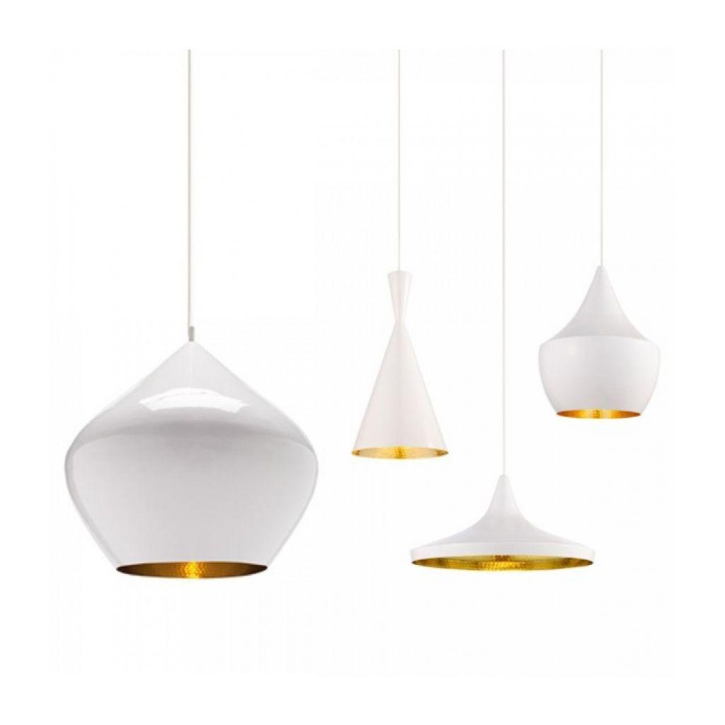 Tall Pendant Light Copper - replica Tom Dixon