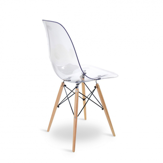 DSW Chair Clear - Inspiration Eames