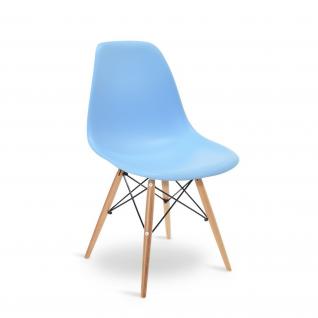 DSW stoel Doorzichtige- Inspiratie Eames