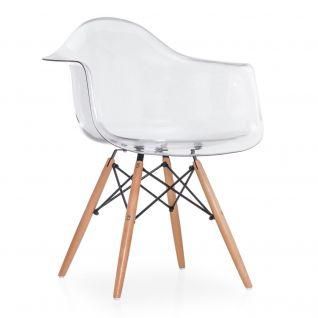 Chaise DAW Plastique - Eames