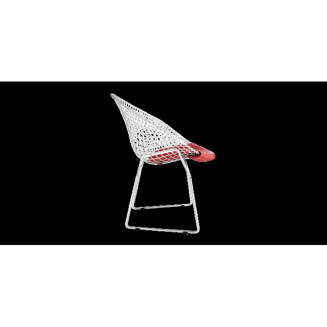 Fauteuil Petit Diamant Bertoia - Inspiration Knoll